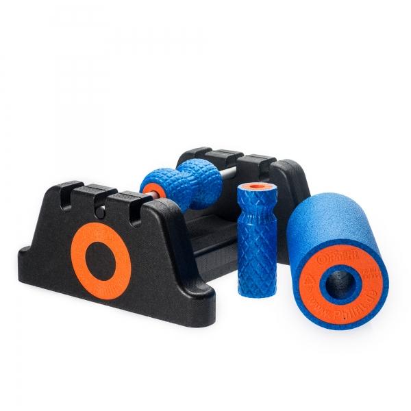 Philfit Bundle Expert Hard, blau mit Boden- und Wandhalterung