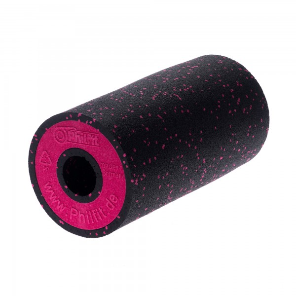Big Roll Medium, schwarz / pink