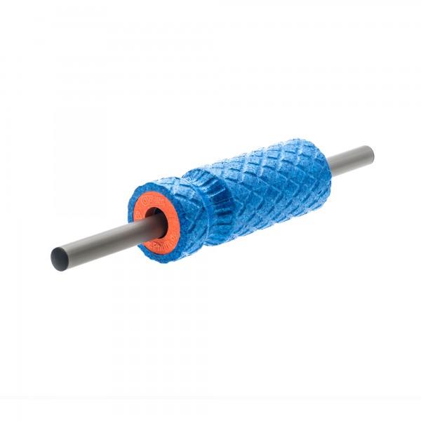 Achillesfreund (Small Roll) Hart, blau mit Faszienstange