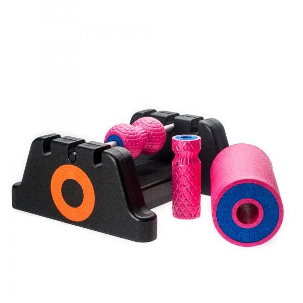 Philfit Bundle Expert Hard, pink mit Boden- und Wandhalterung